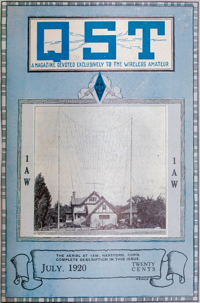 Cover of July 1920 QST