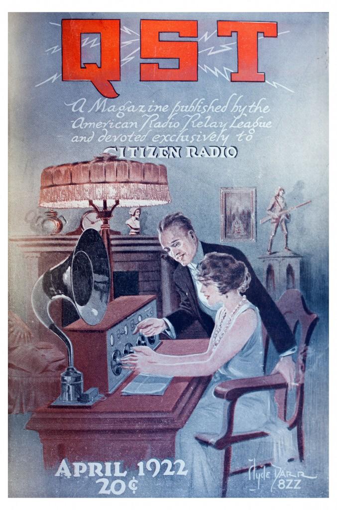 QST April 1922 cover