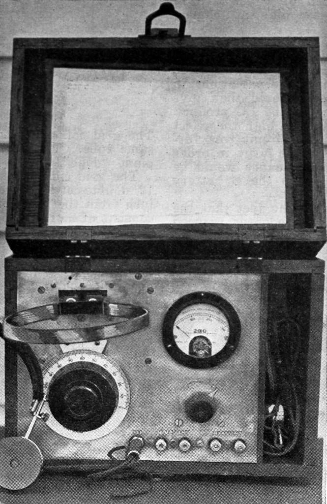 QST August 1924, p. 29, homebrew wavemeter