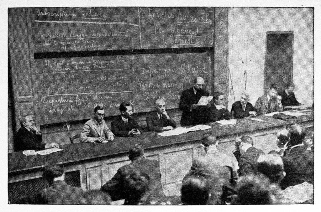 First IARU Congress, Paris, 1925.
