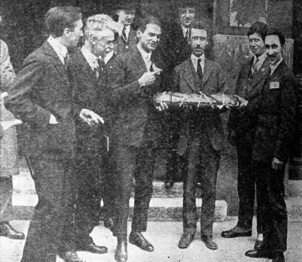QST June 1925, p. 12, ham sandwich