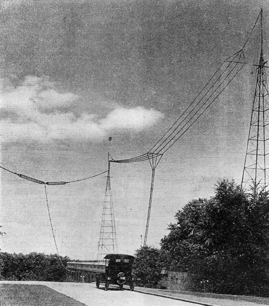 QST, October 1924, p. 9. WWV antenna.