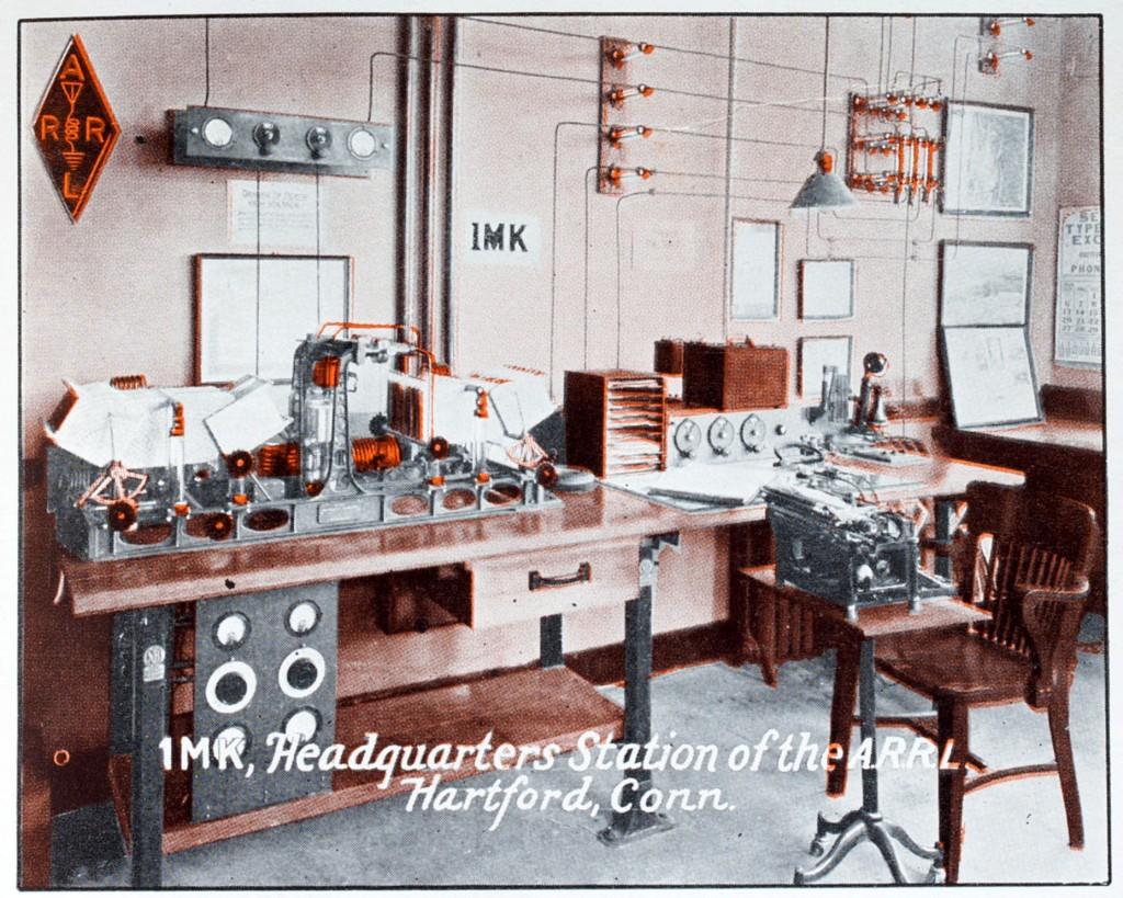 QST June 1928 Cover 1MK ARRL HQ station