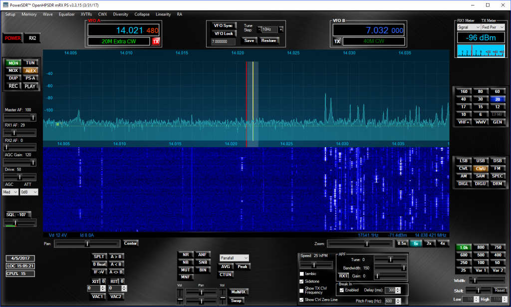 Software Defined Radio – Experiences in SDR